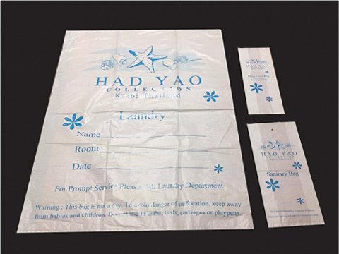 Plastic Bag Set Logo Bags Set-2