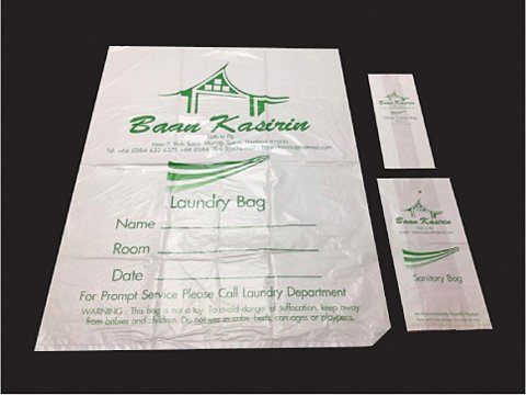 Plastic Bag Set Logo Bags Set-8