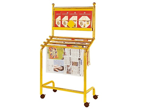 Newspaper-magazine Rack NMR-J-2