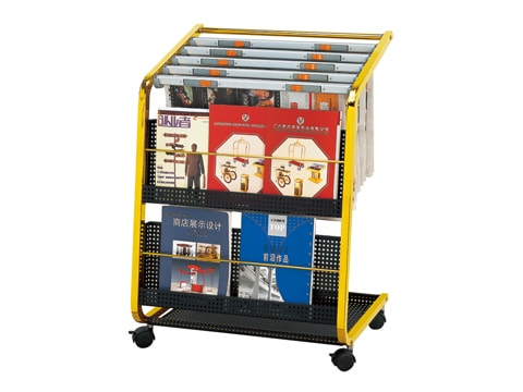 Newspaper-magazine Rack NMR-J-38