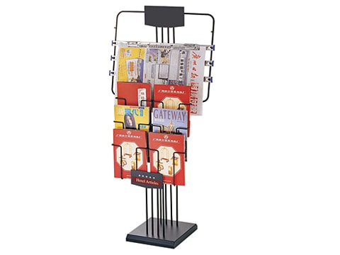 Newspaper-magazine Rack NMR-J-7