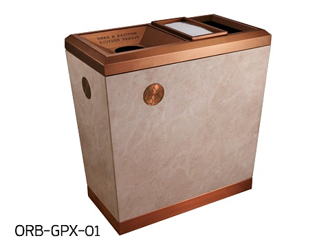 Central Area Waste Bin-2 ORB-GPX-01