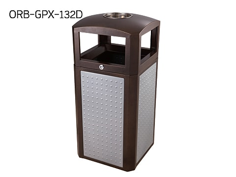 Central Area Waste Bin-1 ORB-GPX-132D