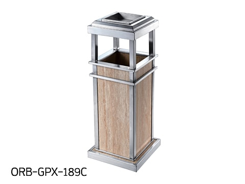 Central Area Waste Bin-2 ORB-GPX-189C
