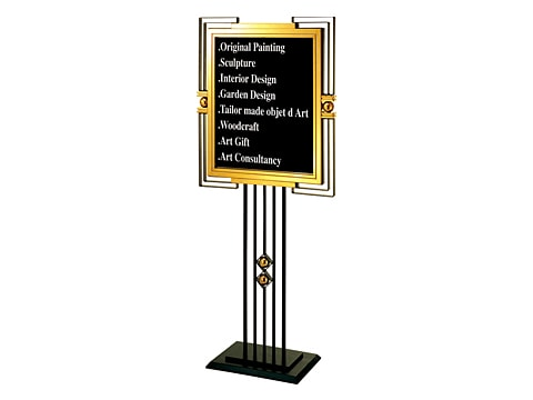 Information Stand Board SDB-P-10-(SS)(TG)