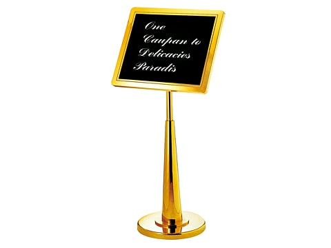 Information Stand Board SDB-P-23-(SS)(TG)