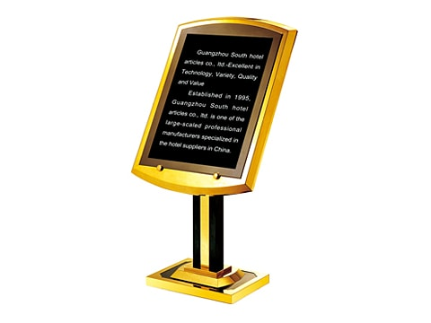 Information Stand Board SDB-P-29-(SS)(TG)