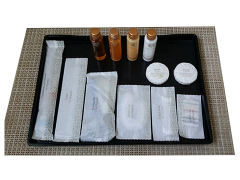 Bathroom Amenities (Standard set) Standard-Amenities-White